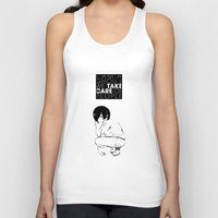 tokyo ghoul Tank Tops featuring I am a Ghoul  by Touko Rabbit
