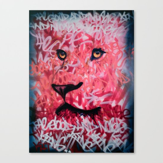 The Good And Noble King Canvas Print