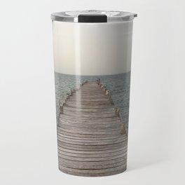 Dock in Cancun Travel Mug