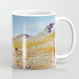 Fall in Scandinavia - Norwegian National Park Landscape Shot on Film Coffee Mug