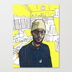 The Kitchen Canvas Print