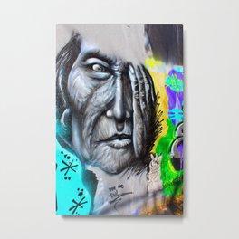 Graffiti See no Evil Metal Print