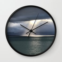 Alaskan light Wall Clock