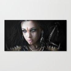 Edge of Her World Canvas Print