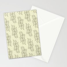Linen Leaves Stationery Cards