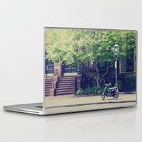 vespa Laptop & iPad Skins featuring Vespa by thirteesiks