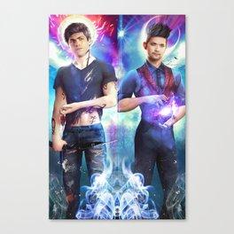 Dakimakura Magnus & Alec Canvas Print