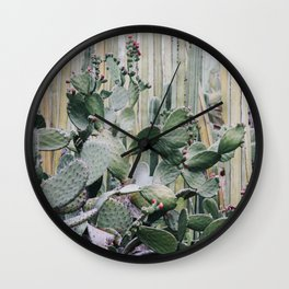 Cacti Heaven Wall Clock