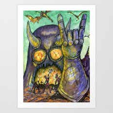 Layer 616 Art Print
