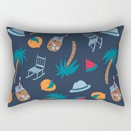 Southern Summer Rectangular Pillow