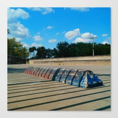#SKATE PARC ORLANDO FLORIDA, USA by Jay Hops Canvas Print