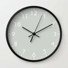 Gray Sea Salt Wall Clock