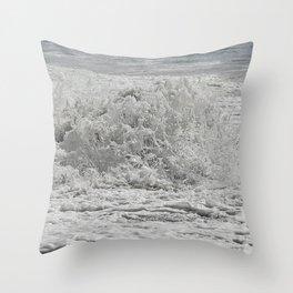 Sea Salted Throw Pillow