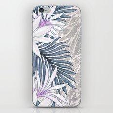 Denim Blooms Forever iPhone & iPod Skin