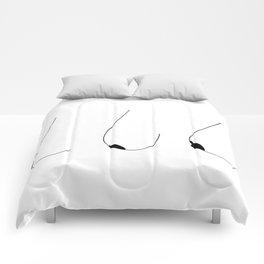 Side Boobs Comforters