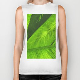 Tropical Green Biker Tank