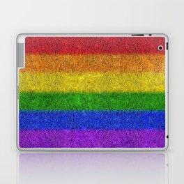 Rainbow Glitter Gradient Laptop & iPad Skin