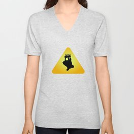 """In love with """"Stunt Riding""""? Grab this perfectly design tee for yourself! Makes a nice gift too!  Unisex V-Neck"""