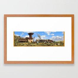 Karoo Station Framed Art Print