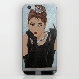 Breakfast in Tiffany homage iPhone Skin