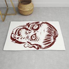 Zombie undead corporeal revenant reanimation corpse horror fantasy Rug