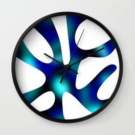 Seaweed Glow Ocean Wall Clock