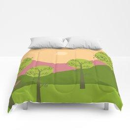 Kawai landscape breaking Dawn Comforters