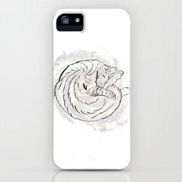 cat cosmos iPhone Case
