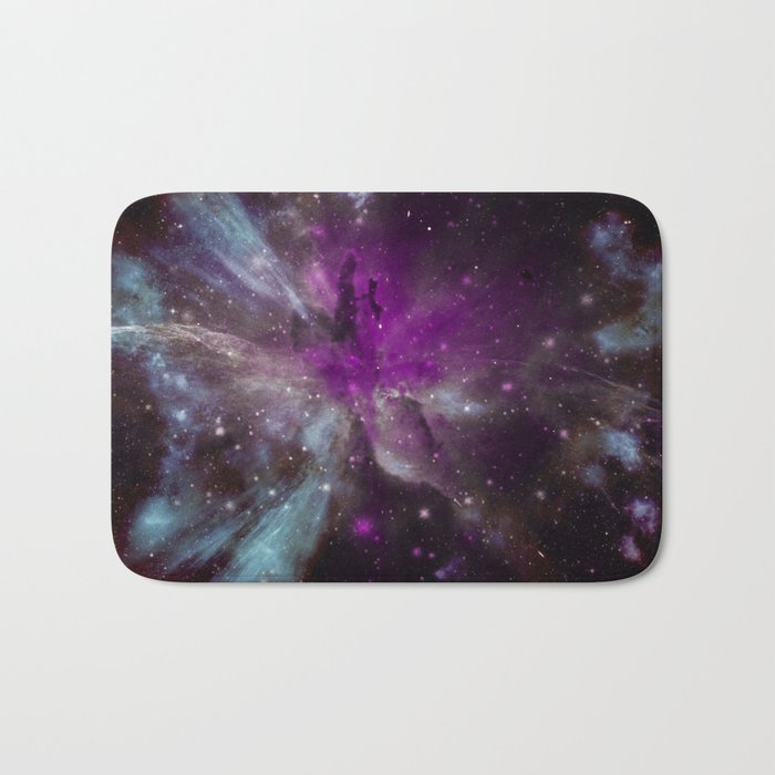 Creation of a Pink Nebula Bath Mat