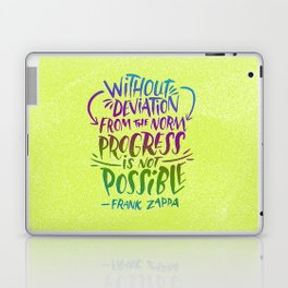 Frank Zappa on Progress Laptop & iPad Skin
