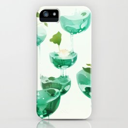 the hovering ponds. iPhone Case