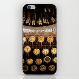 The Wordsmith iPhone Skin