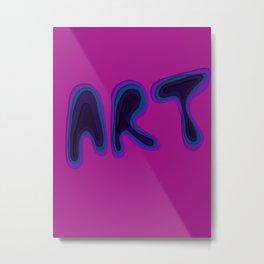 Art of gradient  Metal Print