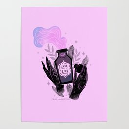 """""""Love is Love Potion"""" inspired by The L Word Poster"""
