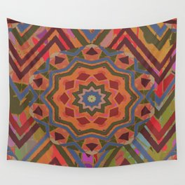 Mountain Flower II Wall Tapestry
