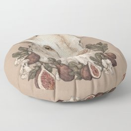 Goat and Figs Floor Pillow