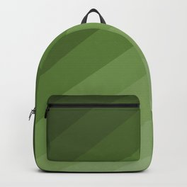 shades of green pattern Backpack