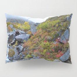 Independence_Mine Waterfall - Alaska Pillow Sham