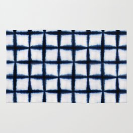 Shibori Squares Rug