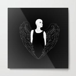 Noir Metal Print