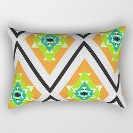 Tropical diamonds Rectangular Pillow