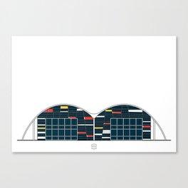 Biblioteca Ingeniería Canvas Print