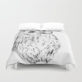 A Cup Of Tea Would Be Delightful Duvet Cover
