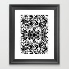 Ikat #5E Framed Art Print
