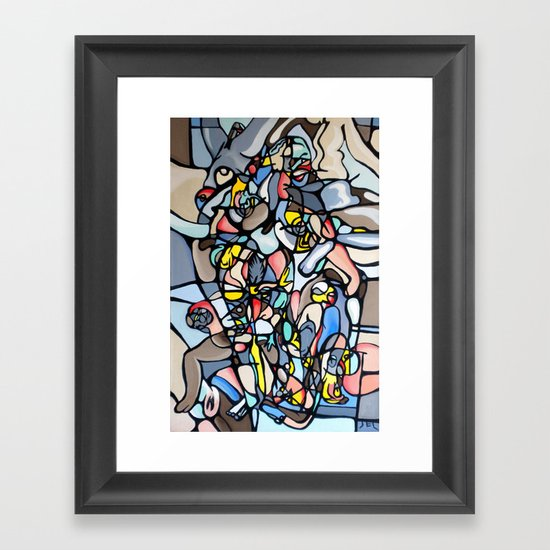 """Modern Day Venus"" Framed Art Print"