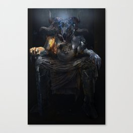 Tarot: The Emperor Canvas Print