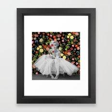 Marilyn Ballerina Framed Art Print