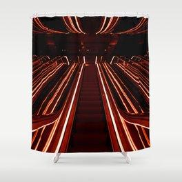 Public Hotel Shower Curtain