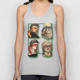 Renaissance Mutant Ninja Artists Unisex Tank Top