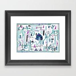 Gauntlet(s), I Framed Art Print